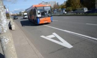 За выезд на полосы для автобусов в Челнах начнут штрафовать с конца июня